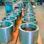 Peças usinadas em torno CNC